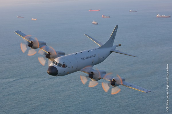 As aeronaves P-3AM Orion foram recebidas a partir de 2011