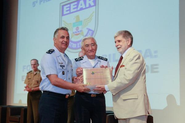A unidade da FAB foi reconhecida pela melhor gestão do Projeto Soldado Cidadão