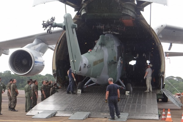 Esquadrão Poti, de Porto Velho (RO), conta agora com 12 aeronaves AH-2 Sabre