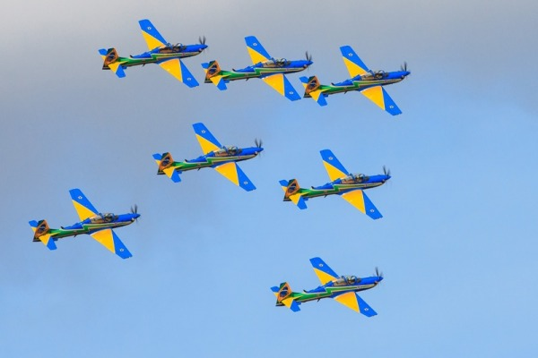 Esquadrão da FAB é o único representante da América do Sul no evento realizado nos EUA