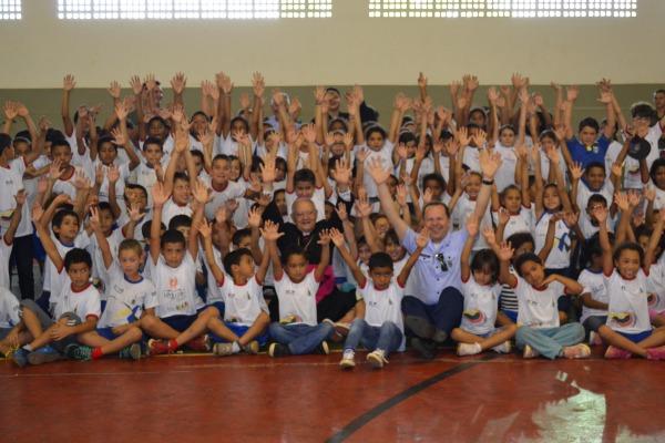 Mais de 150 crianças são atendidas pelo PROFESP da BABR  BABR