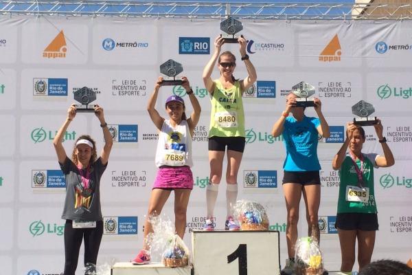 A Sargento Juliana Paula de Souza conquistou o primeiro lugar na prova disputada no Rio de Janeiro