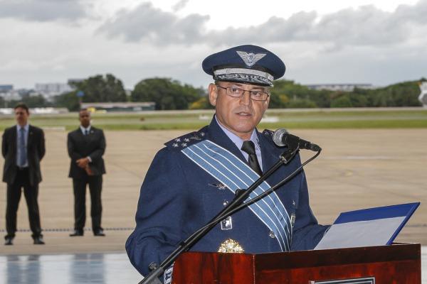 Tenente-Brigadeiro Machado passa o cargo  Sgt Paulo Rezende / Agência Força Aérea