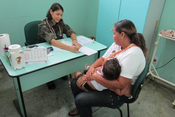 A ação cívico-social aconteceu no município de Manicoré, distante 330 km de Manaus