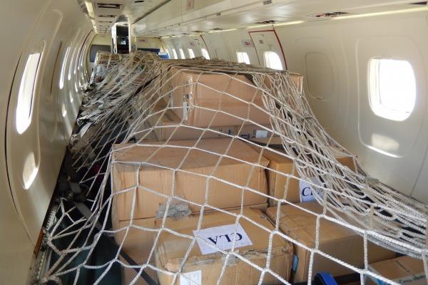 O avião decolou do Galeão com destino ao Centro de Lançamento de Alcântara