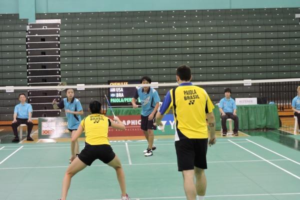 Torneio Internacional de Badminton  1º Sgt BEI Colman