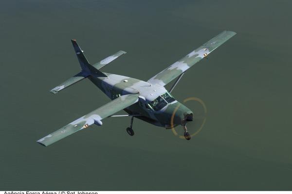 Aeronave C-98 Caravan  Sgt Johnson Barros / Agência Força Aérea
