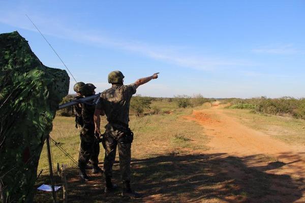 O grupo conta com modernos equipamentos e com o míssil IGLA-S para realizar a defesa antiaérea do País