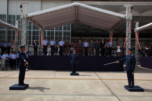 A cerimônia foi presidida pelo Diretor-Geral do Departamento de Controle do Espaço Aéreo (DECEA)