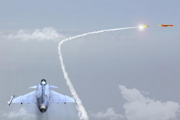 Concepção artística do lançamento  Agência Força Aérea