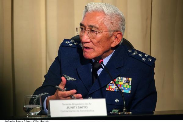 Palavras deixadas pelo oficial-general que mais tempo permaneceu à frente da Força Aérea Brasileira