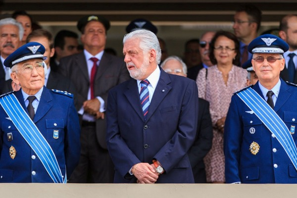Ministro da Defesa presidiu a cerimônia  Sargento Batista / Agência Força Aérea