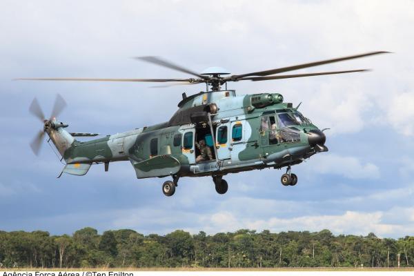 Aeronave já está operacional com o Esquadrão Falcão, de Belém (PA)