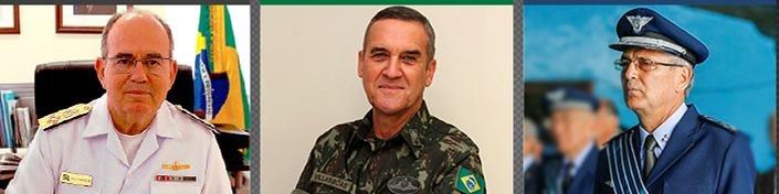 Novos Comandantes militares  Ministério da Defesa