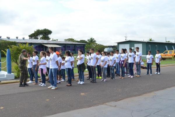 Eles participaram de diversas atividades educativas e recreativas