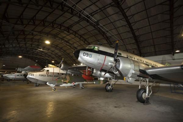 Museu Aeroespacial estará aberto no sábado e no domingo