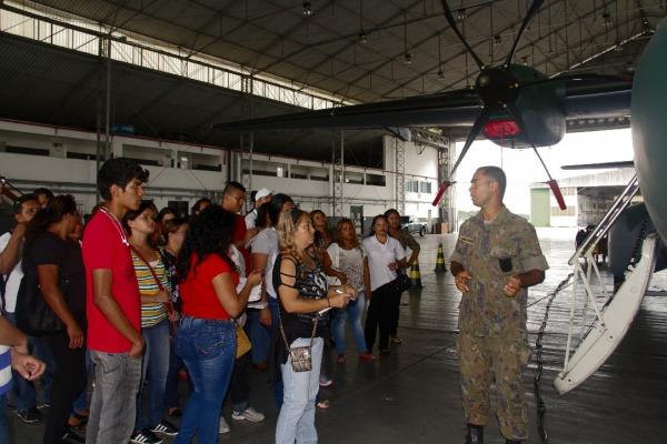 As instruções ocorreram na Base Aérea de Manaus