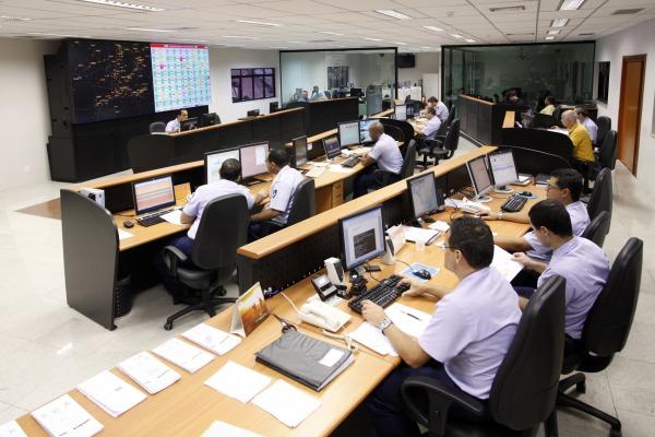 Sala de coordenação no CGNA  CGNA