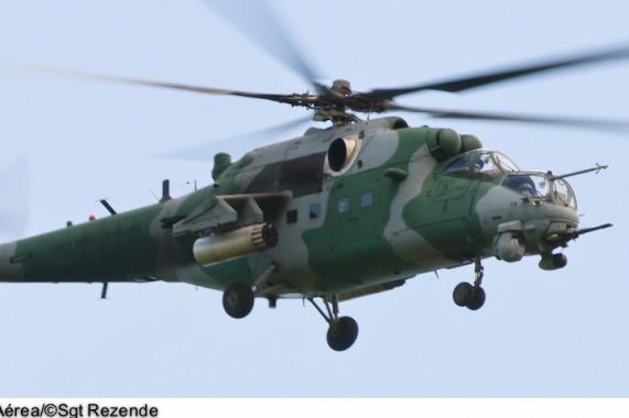 Helicóptero de ataque AH-2 Sabre  Sgt Paulo Rezende / Agência Força Aérea