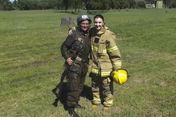 Elas trabalham juntas na Base Aérea de Canoas, no Rio Grande do Sul