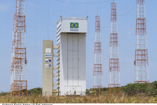 Sítio de lançamento de foguetes  Sgt Johnson Barros / Agência Força Aérea
