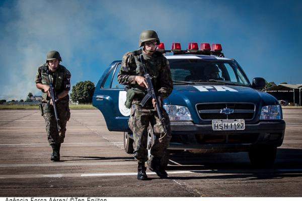 Os militares irão exercer a segurança de bases aéreas e de instalações da Aeronáutica