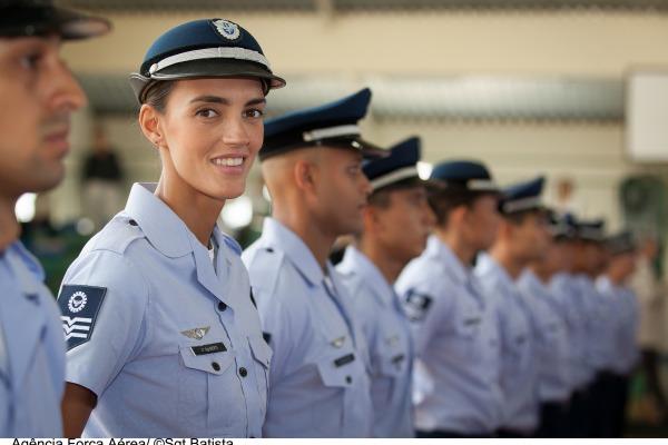 Sargento Fernanda Berti na CDA  Sgt Bruno Batista / Agência Força Aérea