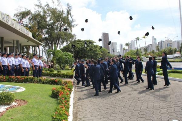 Os 91 novos aspirantes vão atuar em Recife, Fortaleza, Salvador e Alcântara
