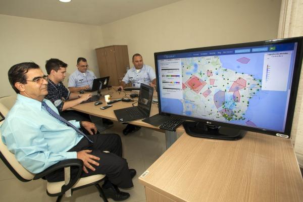 O serviço fornece dados meteorológicos para a aviação civil e militar