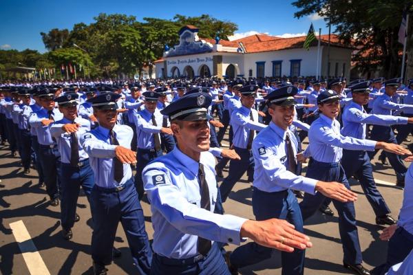 """Veja como foi a cerimônia realizada no """"Berço dos Especialistas"""" em Guaratinguetá, São Paulo"""