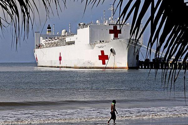 A embarcação vai percorrer 11 países da América Central
