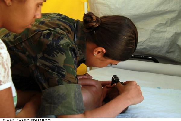 Pediatria é uma das especialidades disponíveis  SD Eduardo/ CIAAR