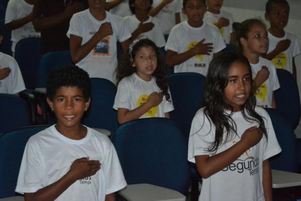300 crianças de seis escolas de Parnamirim (RN) participam da iniciativa