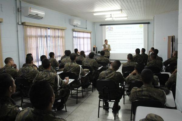 Militares da BASP em treinamento  BASP