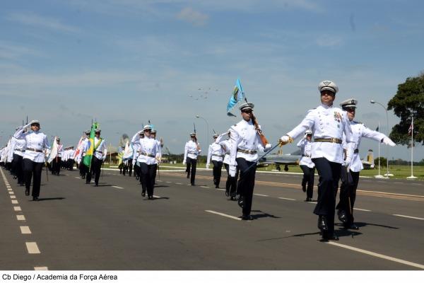 Passagem de Comando  realizada na AFA  CB Diego - AFA