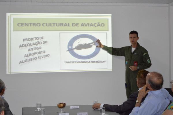 O projeto arquitetônico e museológico foi apresentado em reunião com entidades governamentais e da sociedade civil