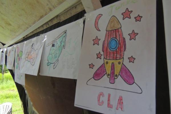 Ação cívico-social CLA em comunidade de Alcântara  S2 Borges