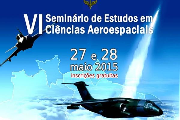 Evento vai acontecer nos dias 27 e 28 de maio na Universidade da Força Aérea