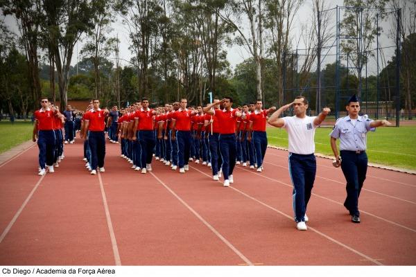 Desfile de Abertura da XLIII INTERAFA  Cb Diego