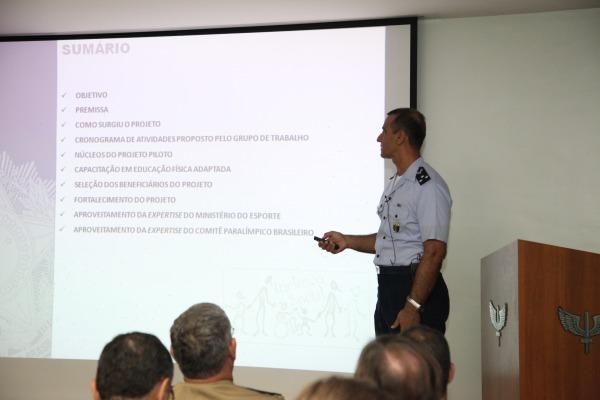 Maj Brig do Ar Carlos Augusto AMARAL Oliveira  1º Sgt Xavier/CDA