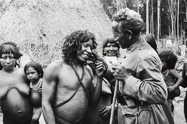 Rondon em tribo indígena  Governo do Estado de Rondônia