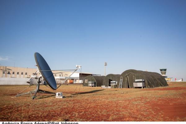 Base de desdobramento em operação militar  Sgt Johnson Barros / Agência Força Aérea