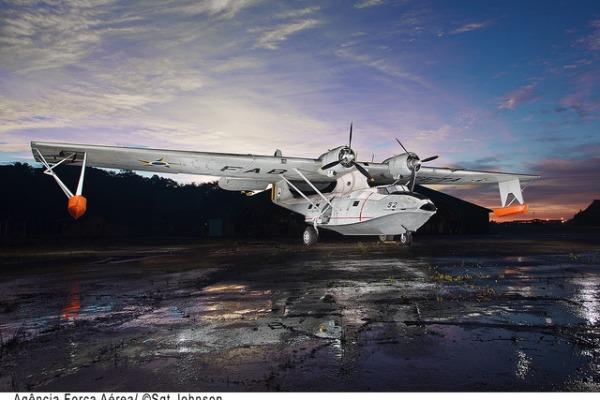 Avião C-10 Catalina  Sgt Johnson Barros / Agência Força Aérea