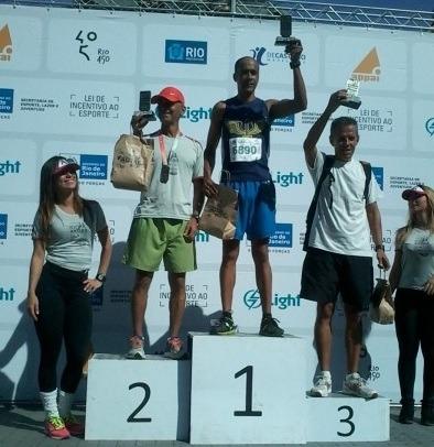 O Circuito Light Rio Antigo teve a participação de mais de 2.500 participantes