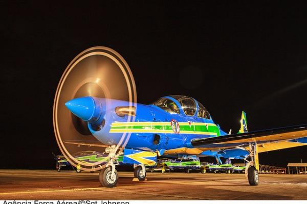 Oficialmente designada como Esquadrão de Demonstração Aérea, a esquadrilha já realizou quase quatro mil apresentações