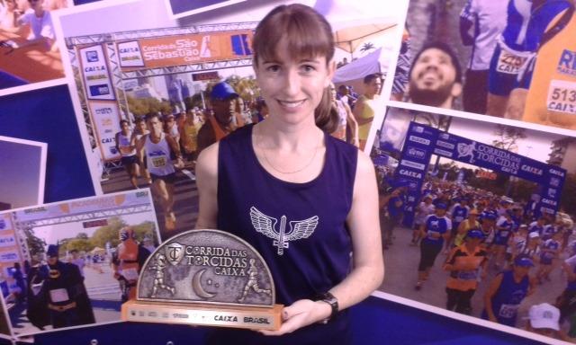 Juliana Paula terminou o trajeto em 29min43s