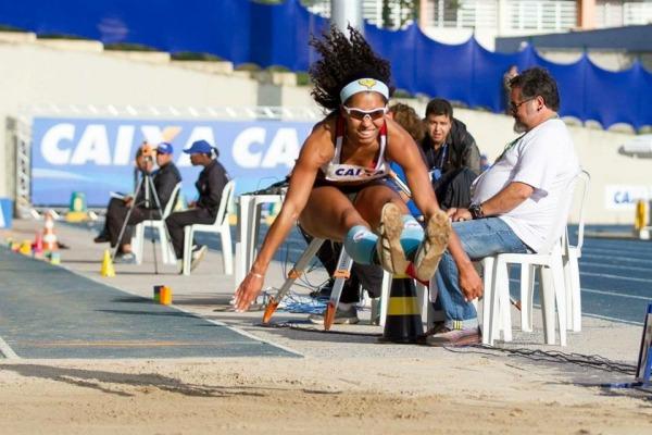 Sargento Reis saltou 6,42 metros e ficou com o bronze  Acervo pessoal