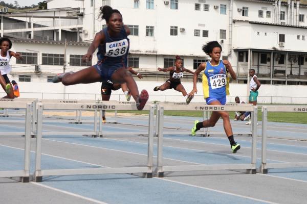 Na CDA foram realizadas diversas provas de atletismo