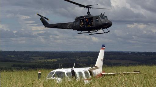 A unidade mantém um helicóptero e uma aeronave em alerta 24 horas por dia