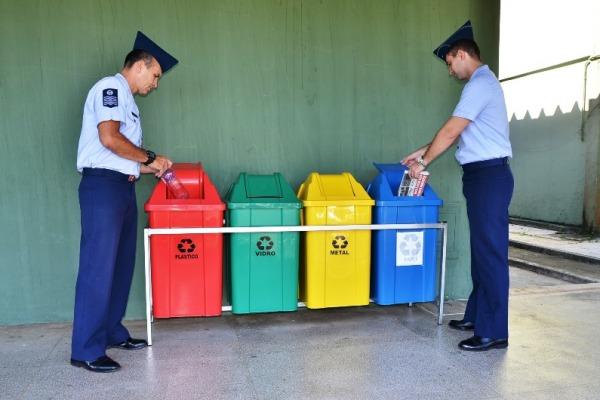 Outras organizações militares da FAB também realizam ações de sustentabilidade